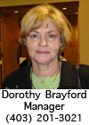 South Calgary Ladies Manager - Dorothy Brayford