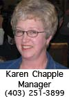 Karen Chapple - Club Manager