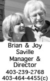 Club Manager and Director - Brian and Joy Saville