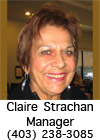Claire Strachan - Club Manager