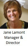 Club Manager - Jane Lamont