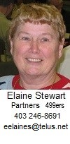 Bow River Club Partnership (499ers) - Elaine Stewart
